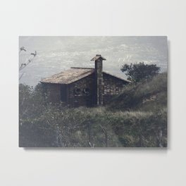 A Little House In The Andes Metal Print