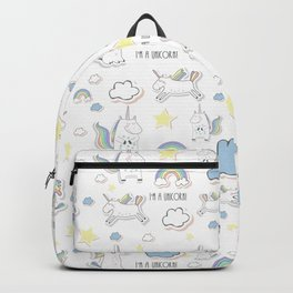 I am a Unicorn Backpack