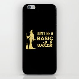 The Basic Witch iPhone Skin