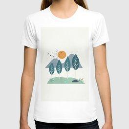 Minimalist Landscape Art I T-shirt