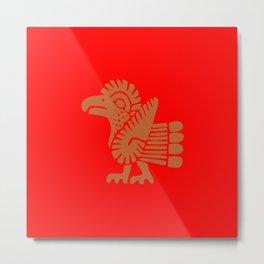 Aztec Bird Metal Print