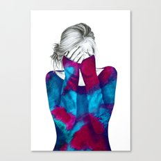 Cosmic Girl 2 Canvas Print