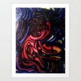 Bongos on my mind Art Print