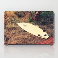 surfboard iPad Cases featuring surfboard- Maui by Eoxe