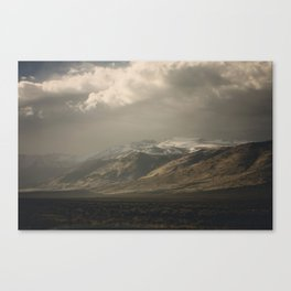 Out the Car Window Canvas Print