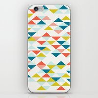 colombia iPhone & iPod Skins featuring Colombia by Menina Lisboa