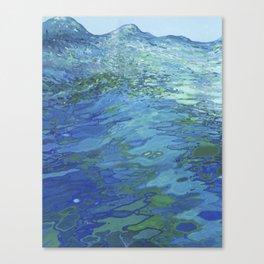 Effervescent Waves 1 Canvas Print