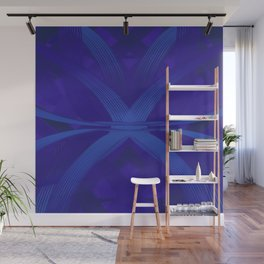 Cyril Blue dpa150607.a2 Wall Mural