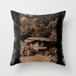 Back in Time (Japan) Throw Pillow