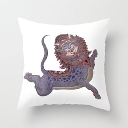 The Ancient Monster Throw Pillow