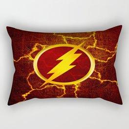 Flash With Lightning Rectangular Pillow
