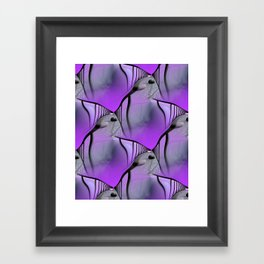 difficult way - pattern -2- Framed Art Print