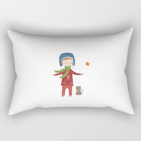 A  BIRD  IN LOVE  Rectangular Pillow