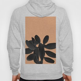 Black Pastel Orange Cacti Vibes #1 #plant #decor #art #society6 Hoody