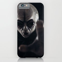 Message for humans iPhone Case