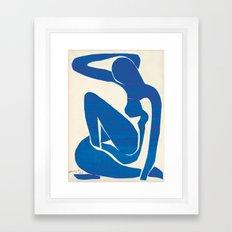Blue Nude by Henri Matisse Framed Art Print