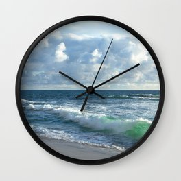 Sea Green Wall Clock