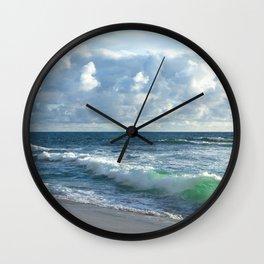 Sea Green Wall Clock