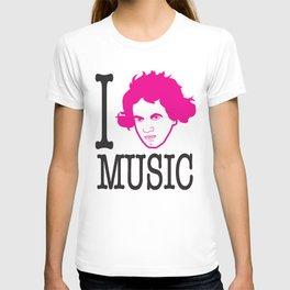 I __ Music T-shirt