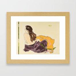 Caitlin Framed Art Print