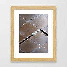 METAL CLADDING Framed Art Print