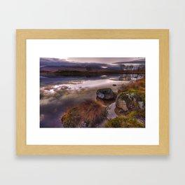 Rannoch Moor, Glencoe, Scotland Framed Art Print