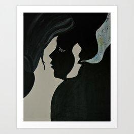 |Exhale| Art Print