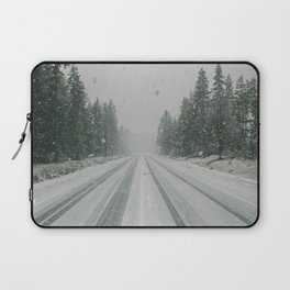 Snow Laptop Sleeve