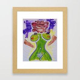 asking for it Framed Art Print