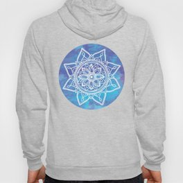 Watercolor mandala Hoody