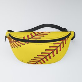 Fast Pitch Softball Fanny Pack