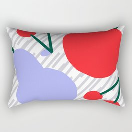 Pear, Apple & Cherries II Rectangular Pillow