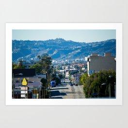 East LA Art Print