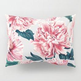 Pattern pink vintage peonies Pillow Sham