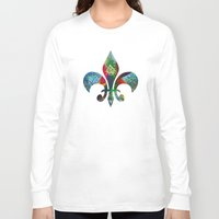 mad hatter Long Sleeve T-shirts featuring Mad Hatter by Lachlan Willis