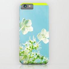 Retro tint Hydrangea Slim Case iPhone 6s