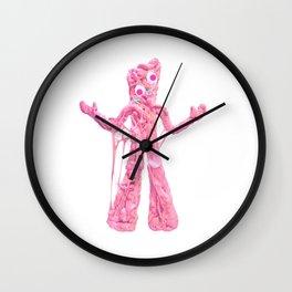 Bubble Gumby Wall Clock