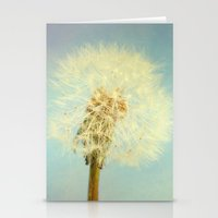 coconut wishes Stationery Cards featuring Wishes by The Last Sparrow