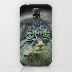 Pallas Cat Galaxy S5 Slim Case