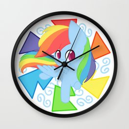 Chibi Rainbow Dash Wall Clock