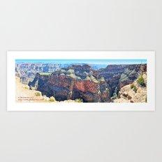 Eagle Point Panorama Art Print