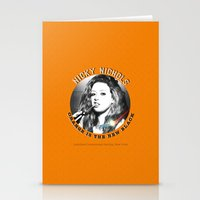 oitnb Stationery Cards featuring Nicky Nichols - OITNB Character by Sandi Panda