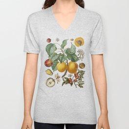 Apples Pears Peaches Unisex V-Neck