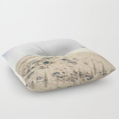 Sand, Sea and Sky - Relaxing Summertime Floor Pillow
