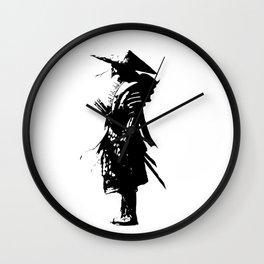 samurai jap Wall Clock