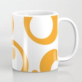 Circles Dots Bubbles :: Marmalade Inverse Coffee Mug