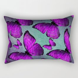 BUTTERFLY PURPLE Rectangular Pillow