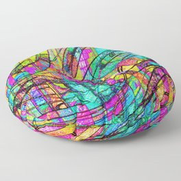 Go With The Flow Floor Pillow