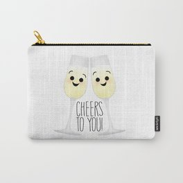 Cheers To You! Champagne Carry-All Pouch