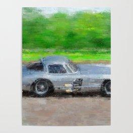 300 SLR Uhlenhaut Coupe Poster